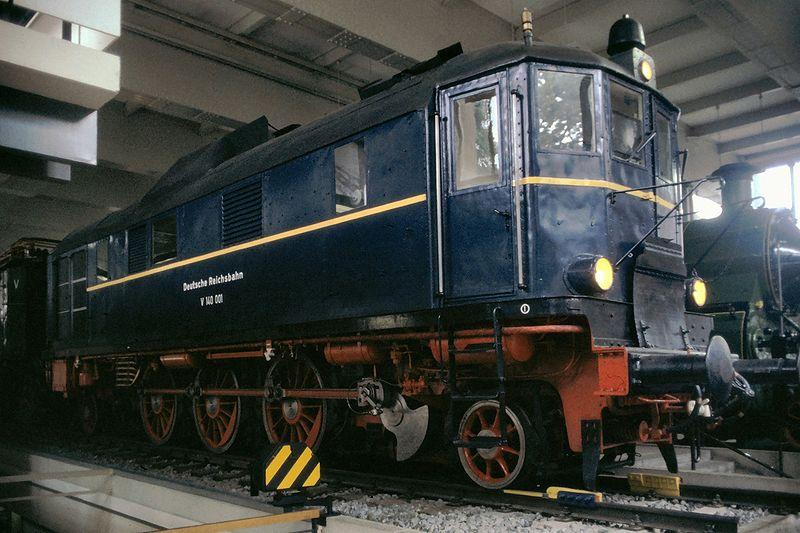 V140 001 der Deutschen Reichsbahn im Deutschen Museum München