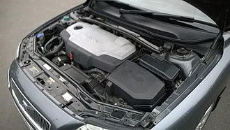 Volvo V70 - Engine compartment of second generation V70 2.4D