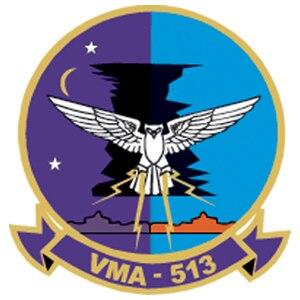 VMA-513 - Image: VMA 513 insignia