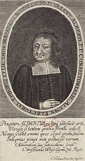 Valentin Alberti Philosopher, theologian