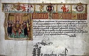 Valor Ecclesiasticus - Title page