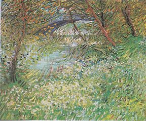 River Bank in Springtime