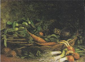 Still Life with Vegetables-basket
