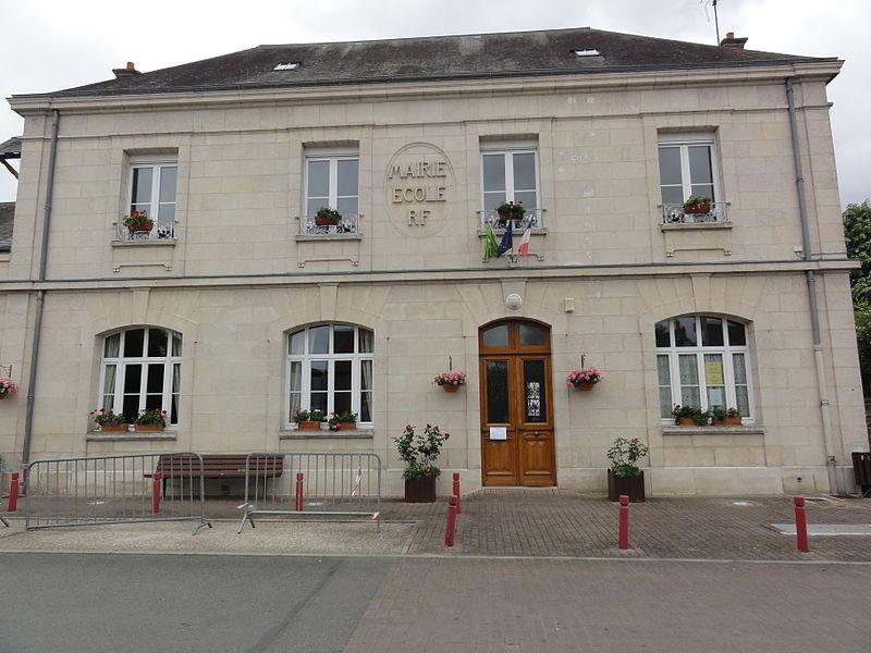 Venizel (Aisne) mairie-école