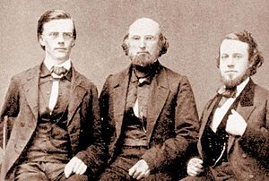 Guido Verbeck - Guido Verbeck, Samuel Robbins Brown, Duane B. Simmons