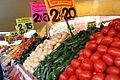 Verduras en el mercado de Tepoztlán.JPG