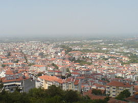 Veria from Villa Vikela Hill.