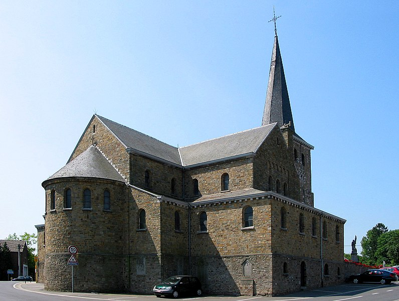 Verlaine (Belgium), the Saint Remigius' church.