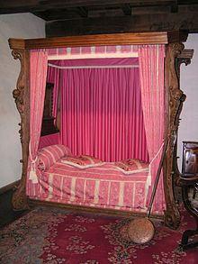bett wikipedia. Black Bedroom Furniture Sets. Home Design Ideas