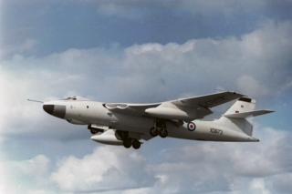 Vickers Valiant British four-jet high-altitude bomber
