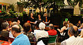 Vienna 2013-08-13 Sittl - 'in memoriam Rolf Schwendter' 003 Miaowing Trio, from left, Eva Fillipp, Helga Golinger, Susanna Schwarz-Aschner.jpg