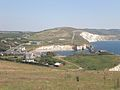 View down to Freshwater Bay.JPG