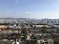View from Tenshu of Himeji Castle (east).jpg