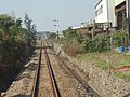 View of TRA Neiwan Line near Jhudong Station.jpg