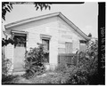 View of rear of house facing north. - 2342-2344 West Madison Street (House), Louisville, Jefferson County, KY HABS KY,56-LOUVI,96-4.tif