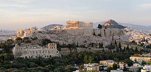 View of the Acropolis Athens (pixinn.net)