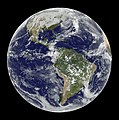View of the Americas on 12.13.14. Original from NASA. Digitally enhanced by rawpixel. - 46300637532.jpg