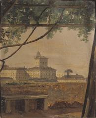 View to the Quirinal from the Villa Malta, Rome