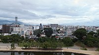 Views from Matsumoto Castle in 2014-8-14 No,5.JPG