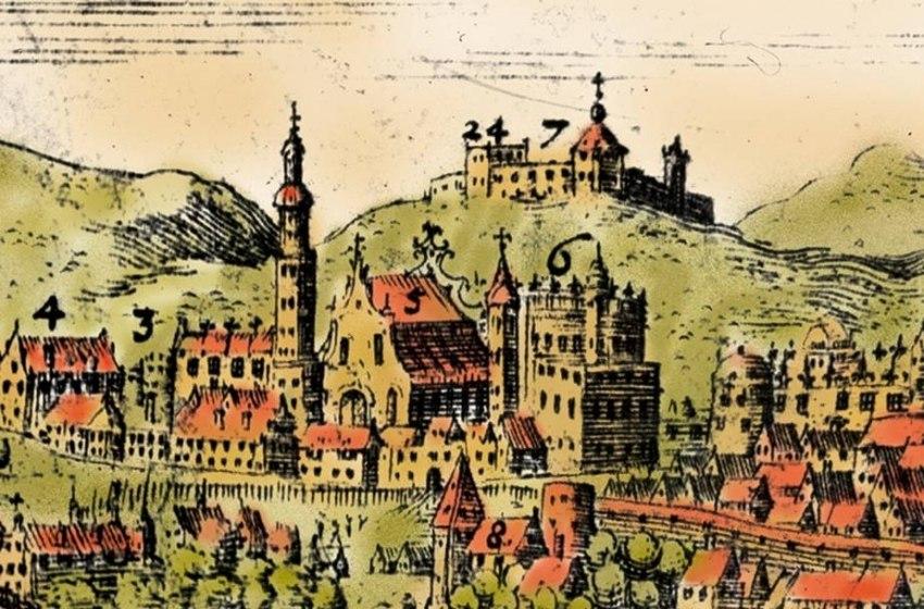 Vilenskija zamki. Віленскія замкі (T. Makoŭski, 1600)