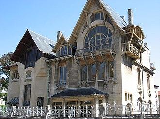 Henri Sauvage - Image: Villa Majorelle extérieur 02 by Line 1