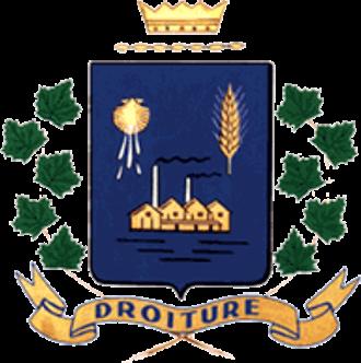 Saint-Rémi, Quebec - Image: Ville saint remi armoiries