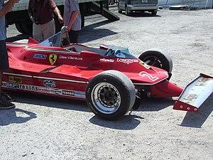 Ferrari 312T - Gilles Villeneuve's 312T5.