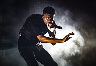 Vince Staples - Staples performing live in 2018