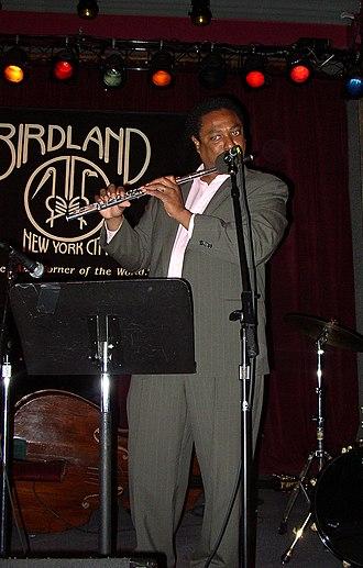 Birdland (New York jazz club) - Vincent Herring performing in Birdland in 2005