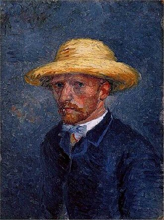 Theo van Gogh (art dealer) - This 1887 portrait by Vincent van Gogh, long thought to be a self-portrait, was reassessed in 2011 to be one of his brother Theo van Gogh.