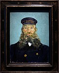 Vincent van gogh, ritratto del postino roulin, 1888, 01.jpg