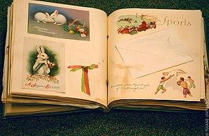 Scrapbooking - A vintage scrapbook