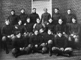 1898 Virginia Cavaliers football team - Image: Virginia Cavaliers football team (1898)