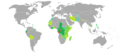 Visa requirements for R Congo citizens.png