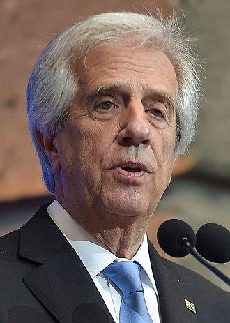 President of Uruguay - Image: Visita Oficial del Presidente de Uruguay 2 (cropped)