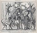 Visitant l'intérieur des principaux monuments de Paris, from Actualités, published in Le Charivari, March 9, 1859 MET DP876841.jpg