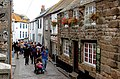 Visitors strolling in Fore Street, St Ives - geograph.org.uk - 1549407.jpg