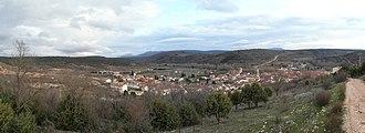 Covarrubias, Province of Burgos - Image: Vista De Covarrubias