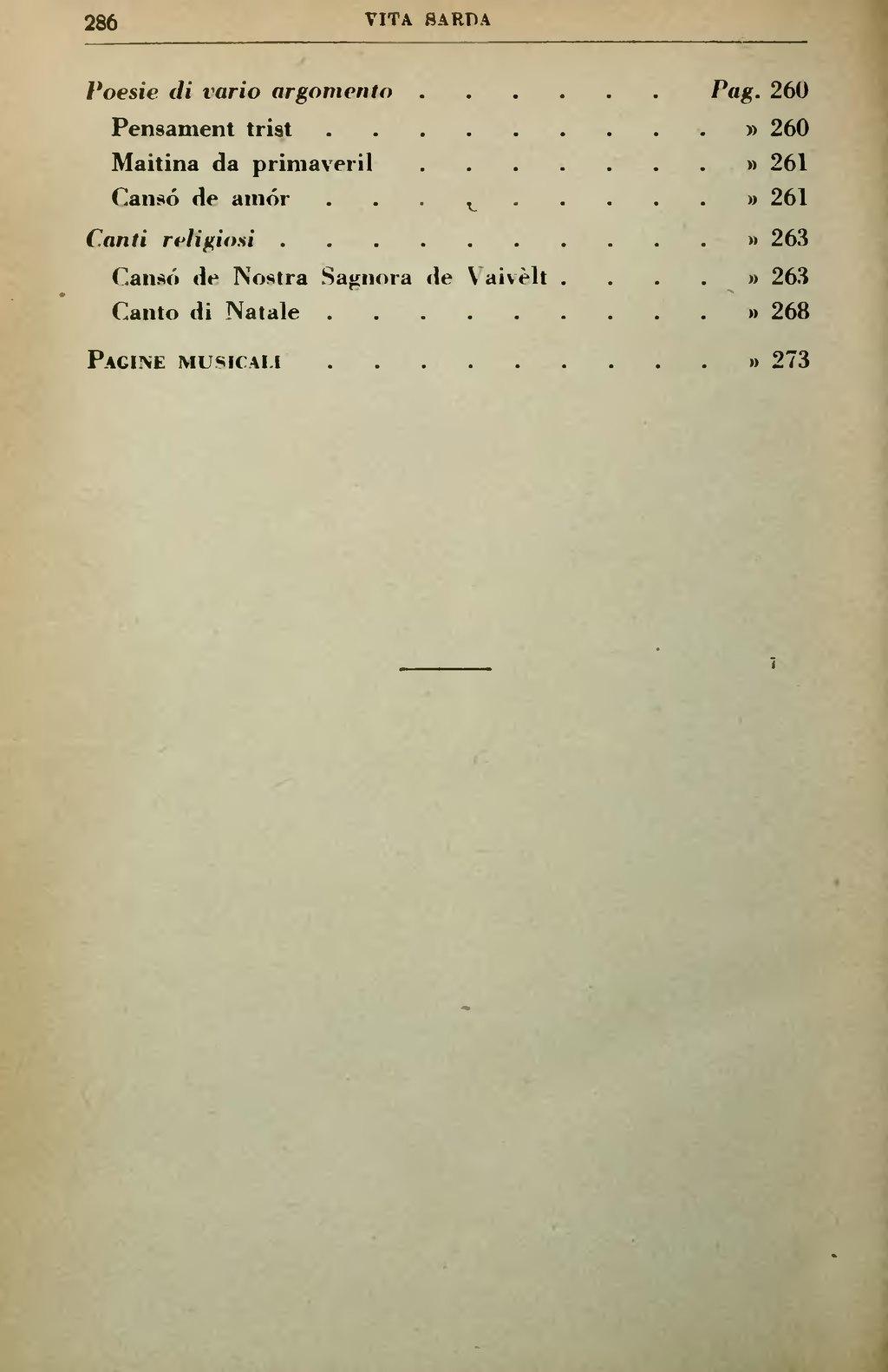 Poesie Di Natale In Sardo.Pagina Vita Sarda Note Di Folklore Canti E Leggende 1887