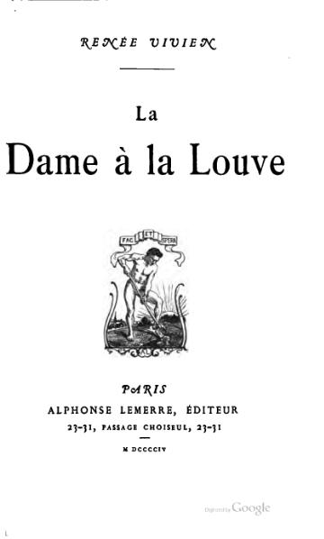 File:Vivien - La Dame a la louve.djvu