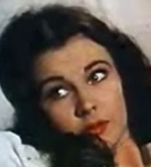 Vivien Leigh kiel Scarlett O'Hara