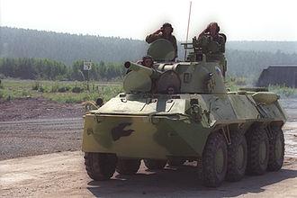2S9 Nona - Image: Vladimir Putin 14 July 2000 4