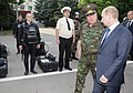 Vladimir Putin and Nikolay Rogozhkin, 22 July 2011.jpg