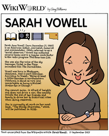 sarah vowell shooting dad