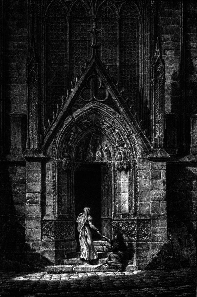 Filevue De La Porte Rouge église Notre Dame De Paris Chapuypng