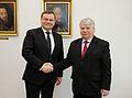 Vydas Gedvilas Bogdan Borusewicz 01 Senate of Poland.jpg