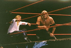 Edge and Christian - Christian (left) and Edge during their time in The Brood.