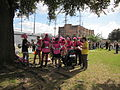 WWOZ 30th Parade Elysian Fields Lineup Steppers 1.JPG