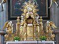 Waidhofen Thaya Pfarrkirche - Hochaltar 7 Tabernakel.jpg