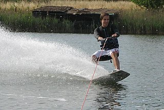 Wakeboarding Surface water sport